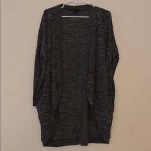 Charcoal Forever 21 Cardigan size XS